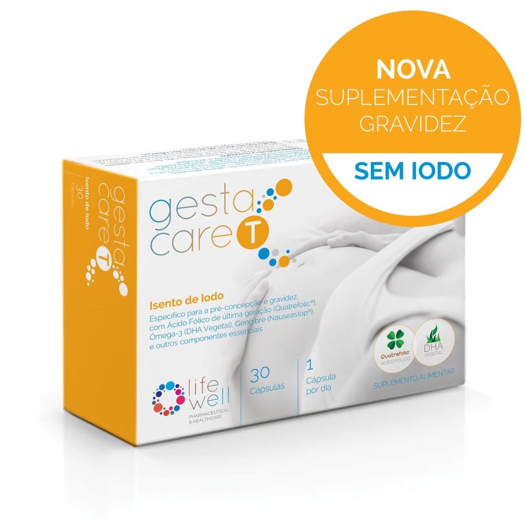 LifeWell GestaCare Sintomas Gravidez Grávida Maternidade Iodo Tiróide