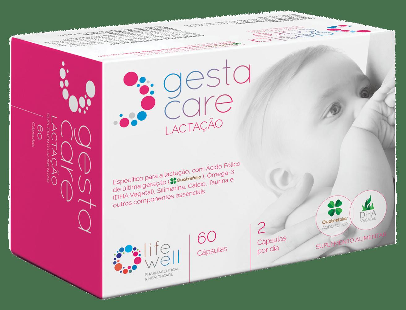 Embalagem GestaCare Lactação