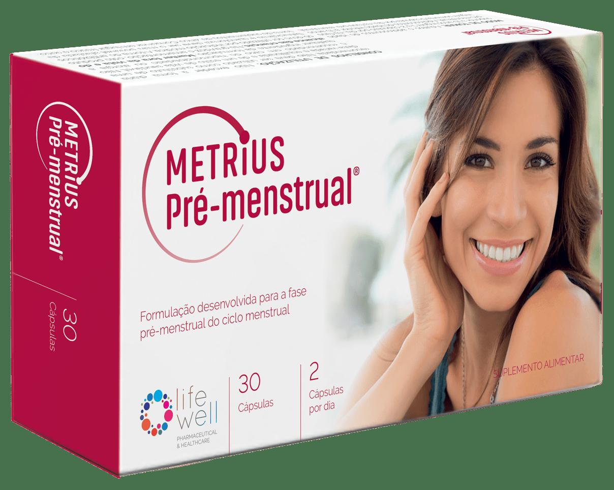 Embalagem Metrius Pré-menstrual